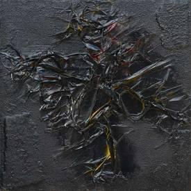 Crollo della Materia. 2008. 50x50. Tecnica Mista.